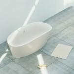 bañera exenta de diseño TINA por SANICO